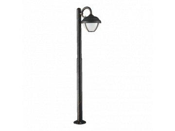 PREZENT 39019 venkovní sloupkové LED svítidlo Nebraska 1x7W IP44 3000K