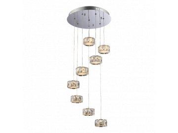 LUXERA 62415 závěsné LED svítidlo Chorum 8x5W 3000K