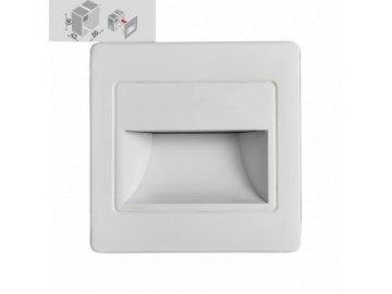 EMITHOR 70409 orientační vestavné LED svítidlo Step Light 1x1 5W 4000K
