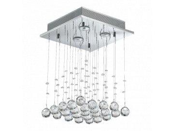 LUXERA 62425 KILLYS křišťálové stropní svítidlo 3xGU10/50