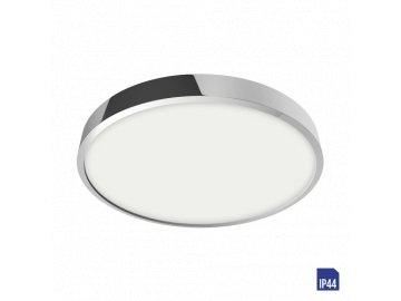 EMITHOR 49026 LENYS kruhové stropní LED svítidlo 18W 4000K IP44 chrom