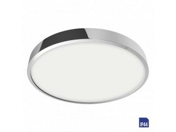 EMITHOR 49027 LENYS kruhové stropní LED svítidlo 24W 4000K IP44 chrom