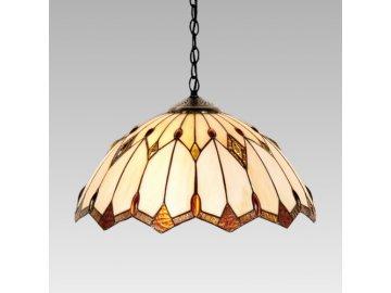 PREZENT 83 závěsné svítidlo Tiffany 2x60W E27