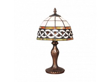 PREZENT 150 TIFFANY stolní lampa 1xE14/40W