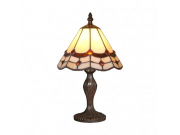PREZENT 153 TIFFANY stolní lampa 1xE14/40W