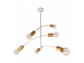PREZENT 61216 VEDMA stropní svítidlo 6xE27/G80/40W
