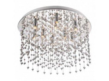 LUXERA 32320 RAIN kříšťálové stropní světlo 9xG9/28W