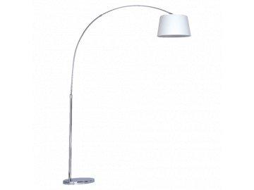 PREZENT 32321 MEDIAN stojací lampa oblouk 1xE27/40W bílá