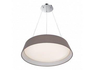 PREZENT 45132 VASCO závěsné textilní LED svítidlo 24W 4000K šedé