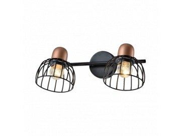 PREZENT 75463 BASKET stropní drátěné svítidlo 2xE27/60W