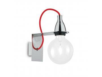 IDEAL LUX 045207 nástěnné svítidlo Minimal AP1 Cromo 1x70W E27