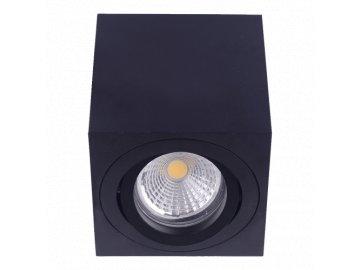 EMITHOR 48609 ALUX stropní bodové svítidlo 1xGU10/ 50W černé