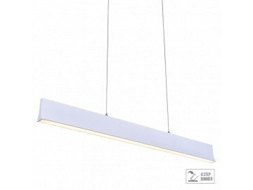 LUXERA 18414 OBLO LED závěsné svítidlo 30W 4000K