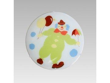 PREZENT 1362 dětské svítidlo Clown 1x60W E27