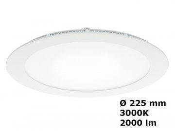 LED Zapuštěné tenké svítidlo THORNeco ZOE DL 210 2000 830 22W 3000K IP44 96666095