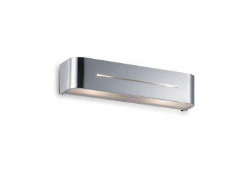 IDEAL LUX 051932 nástěnné svítidlo Posta AP2 Cromo 2x40W E14