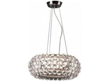 AZZARDO - Závěsné svítidlo Acrylio 40 pendant  1x100W IP20 35,5cm čiré 0057