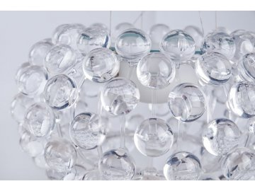 Závěsné svítidlo Azzardo Acrylio 40 pendant AZ0057 R7s 1x100W IP20 35,5cm čiré