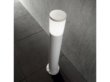 IDEAL LUX - Venkovní sloupkové svítidlo Amelia PT1 Bianco 198644 E27 1x23W IP55 bílé