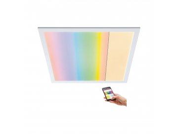 PAULMANN - LED Panel SmartHome Zigbee Amaris hranaté 595x595mm 35W RGBW 2.700K bílá mat, P 79809