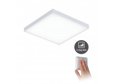 PAULMANN - LED Panel Velora 3-krokové-stmívatelné 225x225mm 12W 3.000K, P 79820