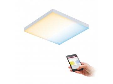 PAULMANN - LED Panel SmartHome Zigbee Velora měnitelná bílá 225x225mm 8,5W 2.700K, P 79824