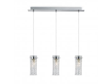 IDEAL LUX 052366 závěsné svítidlo Iguazu' SP3 3x40W E14