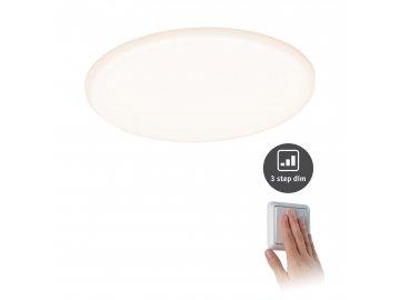 PAULMANN - LED vestavné svítidlo Veluna VariFit IP44 3-krokové-stmívatelné kruhové 185 17W, P 93063