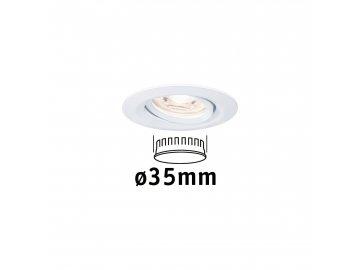 PAULMANN - LED vestavné svítidlo Nova mini výklopné 1x4W 2.700K bílá, P 94292