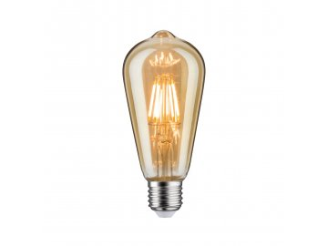 PAULMANN - LED žárovka ST64 6,5 W E27 zlatá zlaté světlo, P 28717