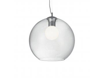 IDEAL LUX 052816 závěsné svítidlo Nemo Clear SP1 D40 1x60W E27