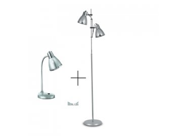 IDEAL LUX - SET 42794 ELVIS ARGENTO + 34416 ELVIS ARGENTO