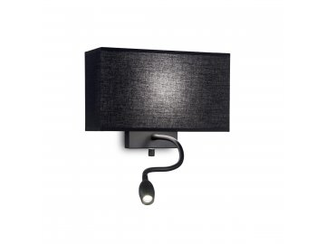IDEAL LUX - HOTEL AP2 ALL BLACK 215709