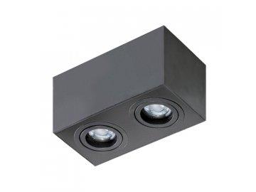 AZZARDO -  2 Square (black)