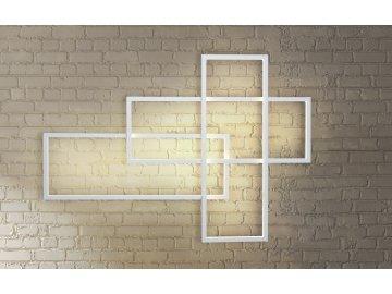 AZZARDO - Quadratus Wall dimm (white) 2993