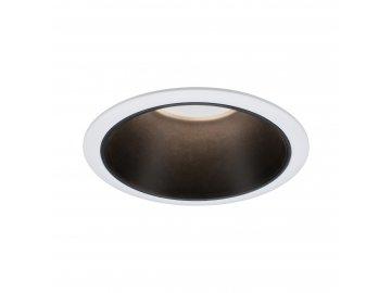 PAULMANN - Vestavné svítidlo LED Cole 6,5W bílá/černá mat 3-krokové-stmívatelné 2700K teplá bílá, P 93401