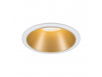 PAULMANN - Vestavné svítidlo LED Cole 6,5W bílá/zlatá mat 3-krokové-stmívatelné 2700K teplá bílá, P 93405