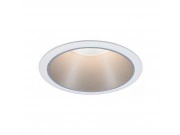 PAULMANN - Vestavné svítidlo Cole GU10 max. 10W bílá/stříbrná mat, P 93398