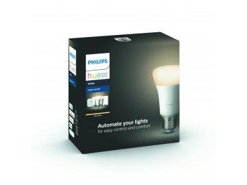 Hue Bluetooth 3x žárovka LED E27 9W 806 lm 2700K + bridge + switch