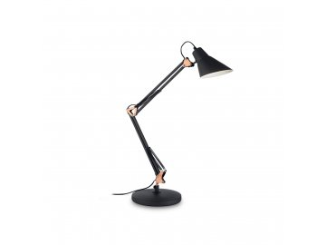IDEAL LUX 061160 stolní lampa Sally TL1 Nero 1x60W E27