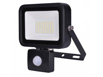 SOLIGHT - LED reflektor PRO se senzorem, 50W, 4250lm, 5000K, IP44