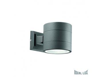 IDEAL LUX 061467 venkovní svítidlo Snif AP1 Round Antracite 1x40W G9 IP54