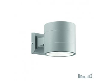 IDEAL LUX 061474 venkovní svítidlo Snif AP1 Round Grigio 1x40W G9 IP54