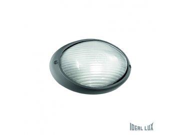 IDEAL LUX 061788 venkovní svítidlo Mike 50 AP1 Small Antracite 1x25W E27 IP65