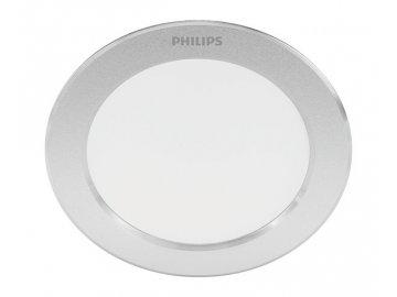 PHILIPS - DIAMOND SVÍTIDLO POHLEDOVÉ LED 3.5W 300lm 2700K, stříbrná