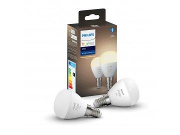 Hue Bluetooth 2x žárovka LED E14 P45 5,7W 470lm 2700K
