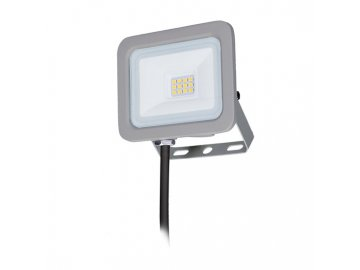 SOLIGHT - LED reflektor Home, 10W, 750lm, 4000K, IP65, šedý