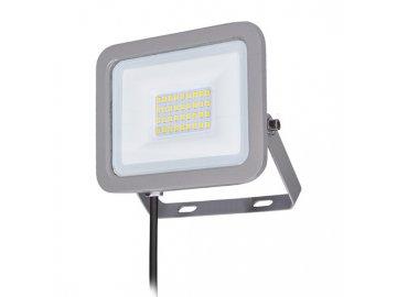 SOLIGHT - LED reflektor Home, 30W, 2250lm, 4000K, IP65, šedý