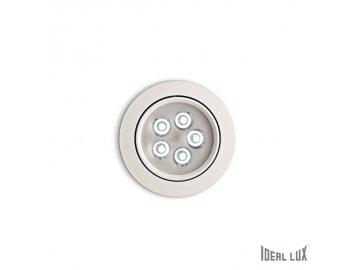 IDEAL LUX 062402 vestavné LED svítidlo Delta FI5 Bianco 5x1W 3000K