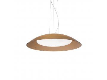 IDEAL LUX 066608 závěsné svítidlo Lena SP3 D64 Marrone 3x60W E27